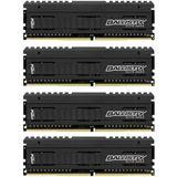 16GB Crucial Ballistix DDR4-2666 DIMM CL16 Quad Kit