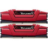 16GB G.Skill RipJaws V rot DDR4-3000 DIMM CL15 Dual Kit