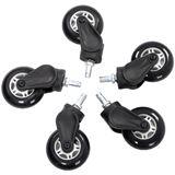 AKRacing Rollerblade Rollen 5 Stück weiß