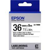 Epson Tape LK7WBN STD 36/9 schwarz/weiß