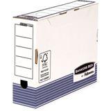Fellowes BANKERS BOX SYSTEM Archiv-Schachtel, blau, (B)80 mm (1130802)