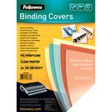 Fellowes Deckblatt Futura, DIN A4, transparent, matt, aus PP