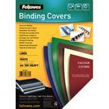 Fellowes Deckblatt Linen, Leinenstruktur, DIN A4, weiß