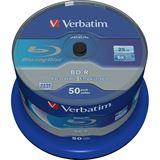 Verbatim BD-R 25GB/1-6x Cakebox 50-Stück