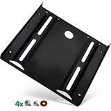 """InLine HDD-/SSD-Einbaurahmen, 2,5"""" auf 3,5"""", mit Einbauschrauben, schwarz"""