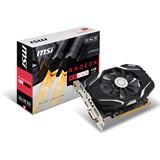4GB MSI Radeon RX 460 4G OC Aktiv PCIe 3.0 x16 (x8) (Retail)