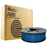 DaVinci Filamentcassette Steel Blue Refill ABS für da Vinci