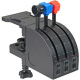 Logitech G Saitek Pro Flight Throttle Quadrant USB schwarz PC