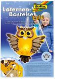 """folia Laternen-Bastelset """"Eule"""""""