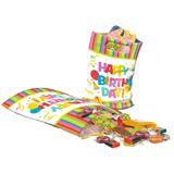 "Susy Card Party-Tüte ""Happy Birthday"", aus Kunststoff"