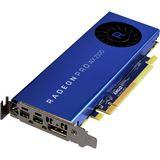 2GB AMD Radeon Pro WX 2100 Aktiv PCIe 3.0 x16 (x8) (Retail)