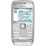 Nokia E71 white steel