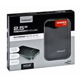320GB Intenso portable Hard Drive USB 2.0 schwarz