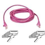 (€3,90*/1m) 1.00m InLine Cat. 5e Patchkabel SF/UTP RJ45 Stecker auf RJ45 Stecker Pink