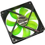 Nanoxia DX14-700 140x140x25mm 700 U/min 17 dB(A) schwarz/grün