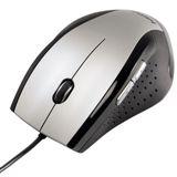 Hama M590 Optische Maus Schwarz/Silber USB
