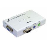 Ultron 63198 2-fach Desktop KVM-Switch