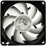 Arctic Arctic F8 TC 80x80x25mm 500-2000 U/min 20 dB(A) schwarz/weiß