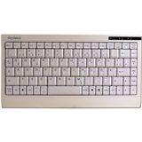 KeySonic ACK-595C+ Mini Tastatur Beige Deutsch PS/2