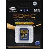 4GB TeamGroup SDHC Card Class 10