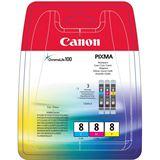 Canon Tinte CLI-8 Multipack 0621B026 cyan, magenta, gelb