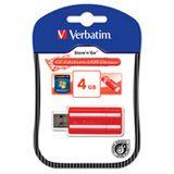 4 GB Verbatim Store `n` Go GT Edition rot USB 2.0