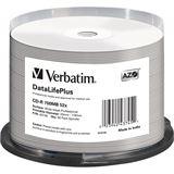 Verbatim CD-R 700 MB bedruckbar 50er Spindel (43745)