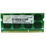 8GB G.Skill SA Series DDR3-1333 SO-DIMM CL9 Single