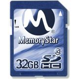 32 GB Memorystar Standard SDHC Class 10 Retail