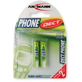 ANSMANN maxE HR03 Nickel-Metall-Hydrid AAA Micro Akku 550 mAh 2er Pack