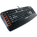 Logitech G710+ Gaming Keyboard CHERRY MX Brown USB Deutsch schwarz (kabelgebunden)