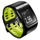 TomTom NIKE+ Sportwatch GPS black/yellow mit Schuhsensor
