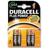 Duracell Plus Power LR03 Alkaline AAA Micro Batterie 1.5 V 4er Pack