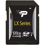 128 GB Patriot LX Serie UHS-I SDXC Class 10 Bulk