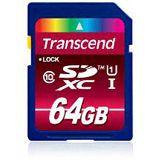 64 GB Transcend Premium UHS-I SDXC Class 10 Bulk