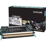 Lexmark Toner gelb PROJEKT X746/748