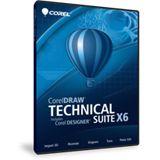 Corel CorelDraw Designer Technical Suite X6 32/64 Bit Multilingual Grafik FPP PC (DVD)