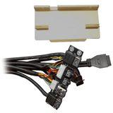 Silverstone 2x USB 3.0 + Audio Front Panel für SilverStone TJ09S und TJ10S (G01303501)