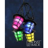 Konstsmide LED Lampion Lichterkette 40 Lampen