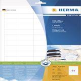 Herma 8629 Premium Universal-Etiketten 3.8x2.12 cm (10 Blatt (650 Etiketten))