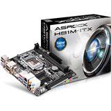 ASRock H81M-ITX Intel H81 So.1150 Dual Channel DDR3 Mini-ITX Retail