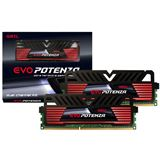 16GB GeIL EVO Potenza schwarz DDR3-2400 DIMM CL11 Dual Kit