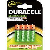 Duracell Ultra HR6 Nickel-Metall-Hydrid AA Mignon Akku 2500 mAh 4er Pack
