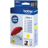 Brother Tinte LC225XLY gelb