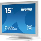 "15"" (38,10cm) iiyama T1532SR-W1 Touch Weiß 1024x768 1xDVI/1xVGA"