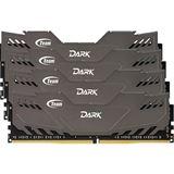 32GB TeamGroup Dark Series grau DDR4-3000 DIMM CL16 Quad Kit
