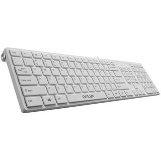 Delux K1000U USB Italienisch weiß (kabelgebunden)