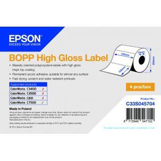BOPP Epson High Gloss Label 102x152mm