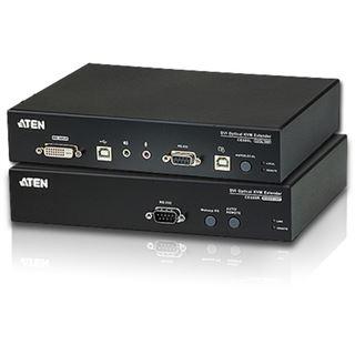 ATEN Technology DVI Optical Fiber KVM Extender (20KM)