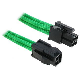 BitFenix 4-Pin ATX12V Verlängerung 45cm - sleeved grün/schwarz